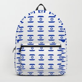 flag of israel - with soft square Backpack