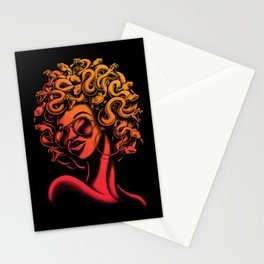 Funky Medusa II Stationery Cards