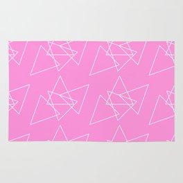 Hot Pink Mess Rug