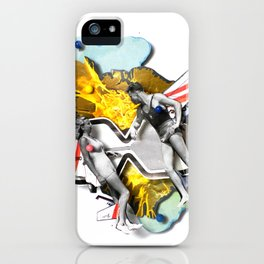 Speed Date   Collage iPhone Case