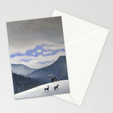 Snow Clearing Stationery Cards
