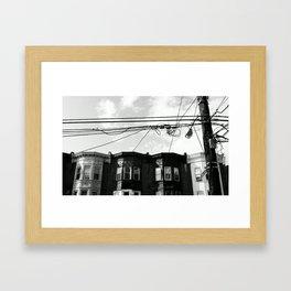 NORTH PHILLY. Framed Art Print