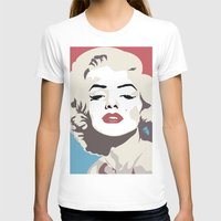 marylin monroe T-shirts featuring Marylin Monroe by Creativehelper