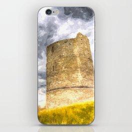 Hadleigh Castle Art iPhone Skin