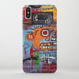 Basquiat Intelligent iPhone Case