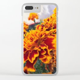Star Blossom Clear iPhone Case