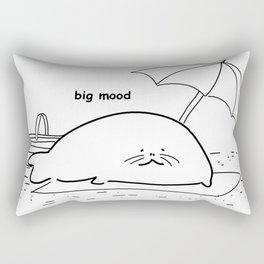 Big mood Rectangular Pillow
