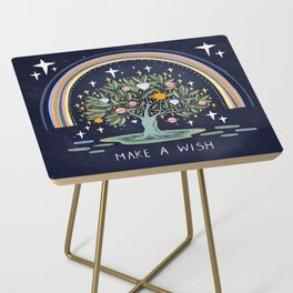 Make a wish Side Table