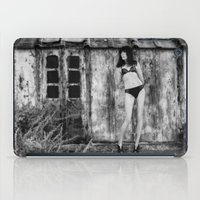 bikini iPad Cases featuring Black Bikini. by davehare
