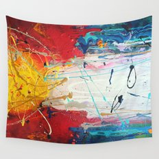 Colorado Abstract Flag #2 Wall Tapestry