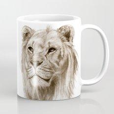 A Lion :: Without Pride Mug