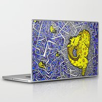constellation Laptop & iPad Skins featuring Constellation by Madame Mim
