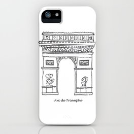 Arc de Triomphe iPhone Case