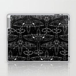 Spitfire Mk. XIV (Dark) Laptop & iPad Skin