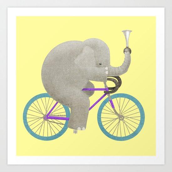Ride 3 Art Print