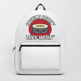 cute sushi lover outfit for anime fans Backpack