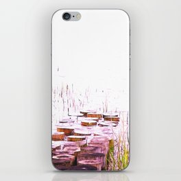 PURPLE WOOD GNOMES iPhone Skin
