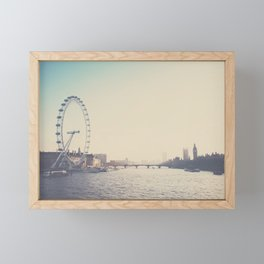 looking back ...  Framed Mini Art Print
