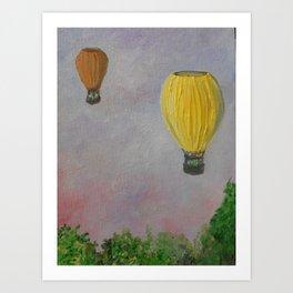 Hot Air Balloon Adventure Art Print