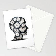 Time is gold Stationery Cards