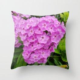 Bundle Flowers Throw Pillow
