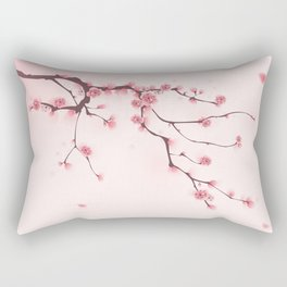 Oriental cherry blossom in spring 002 Rectangular Pillow
