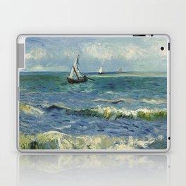 The Sea at Les Saintes-Maries-de-la-Mer by Vincent van Gogh Laptop & iPad Skin