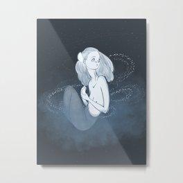 paper moon Metal Print