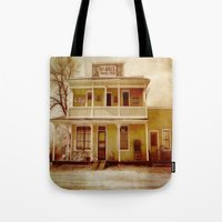 general Tote Bags featuring General Store by Dorothy Pinder