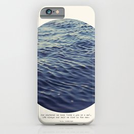 You or Me iPhone Case