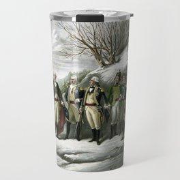 Washington and His Generals Travel Mug