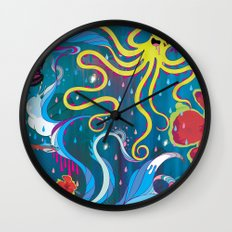 Every Time a Whale Blows Their Spout, a New Dream is Born. Wall Clock