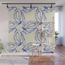 Seaweed Abstract Wall Mural