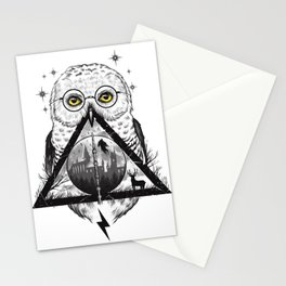 Owls and Wizardry Stationery Cards