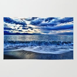 Sunrise over the South Pacific Rug