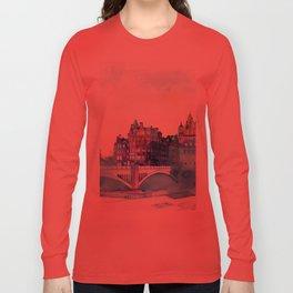 Winter in Edinburgh Long Sleeve T-shirt