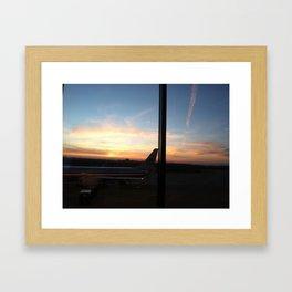 The Setting Sun (#3) Framed Art Print