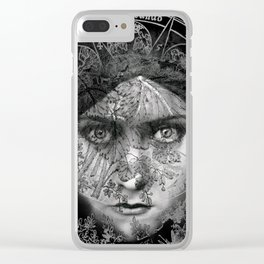 The Eyes of Alchemy Dark Clear iPhone Case