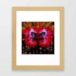 Cosmic butterfly II Framed Art Print