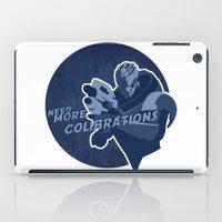 garrus iPad Cases featuring Garrus Vakarian by Spiritius
