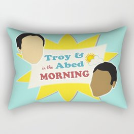 Community Troy & Abed in the Morning Rectangular Pillow