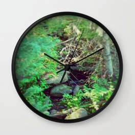 Stream of Living Water Wall Clock