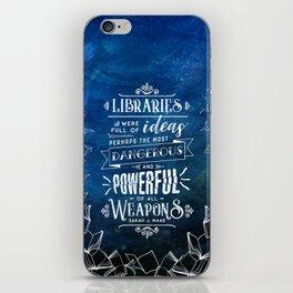 Libraries iPhone Skin