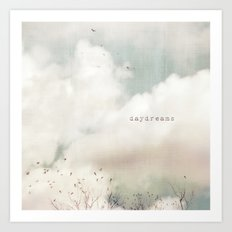 Daydreams Art Print