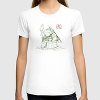 warrior T-shirts featuring Warrior by pigboom el crapo