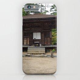 old shrine on Mount Koya iPhone Case