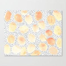 petals pink pattern Canvas Print