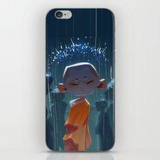 Monk in modern times iPhone Skin