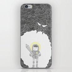 Brave Grey Warrior iPhone & iPod Skin