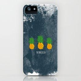 Blue Banana iPhone Case